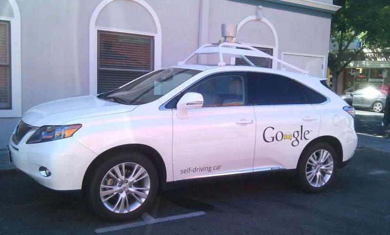 谷歌自驾车