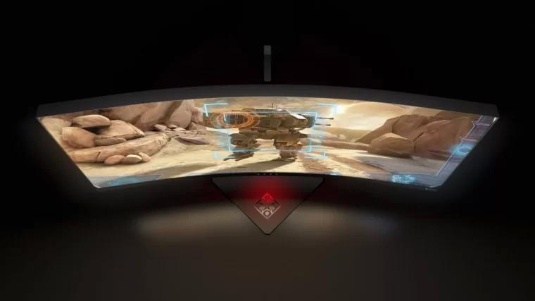惠普 OMEN X 35 曲屏游戏显示器