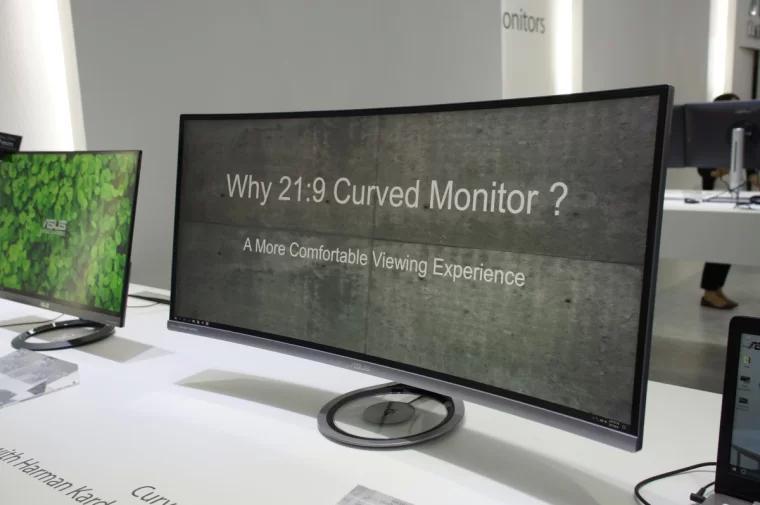 ASUS 华硕超宽曲面显示器
