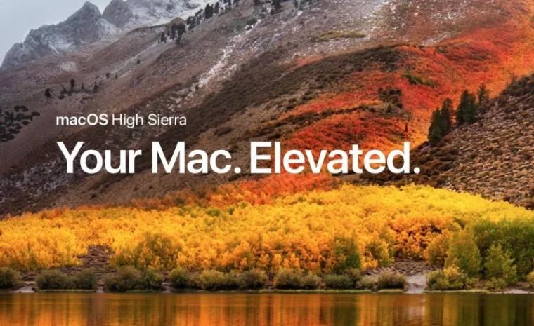 macos high sierra elevated