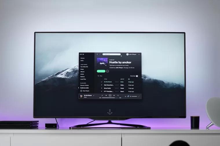 Play music on TV