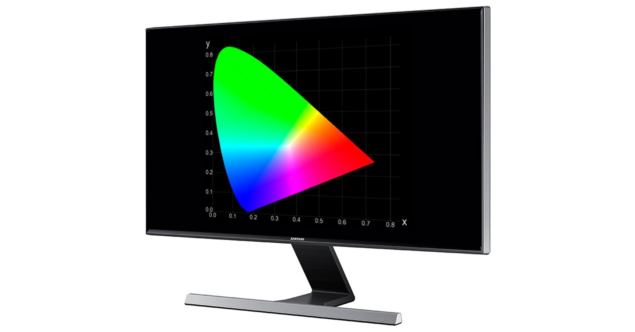 color monitor espacio