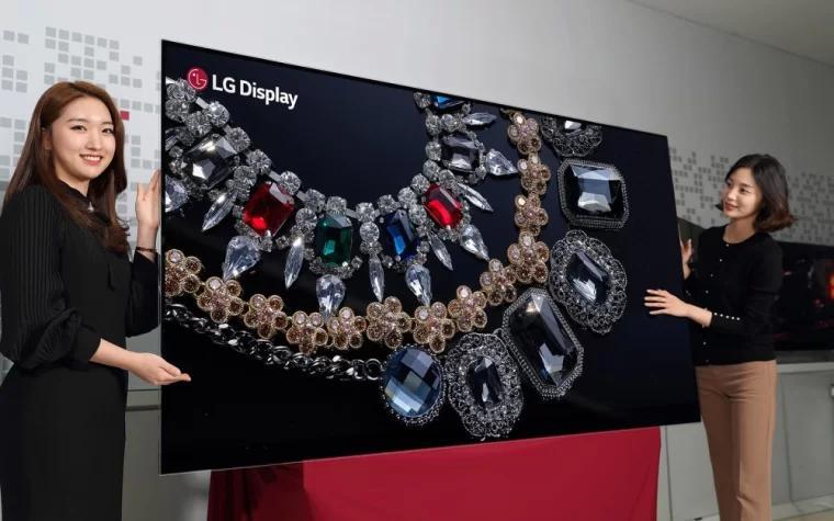 LG88 英寸 8K OLED 显示器