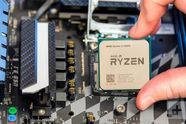 amd ryzen 2200g fingers motherboard