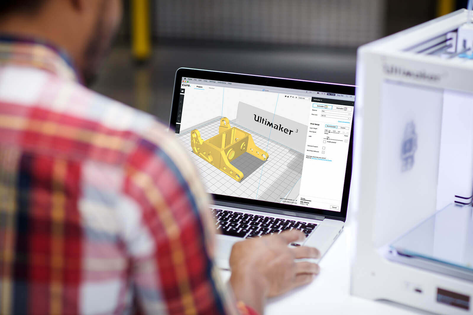 Ultimaker Cura Software 3D Printing