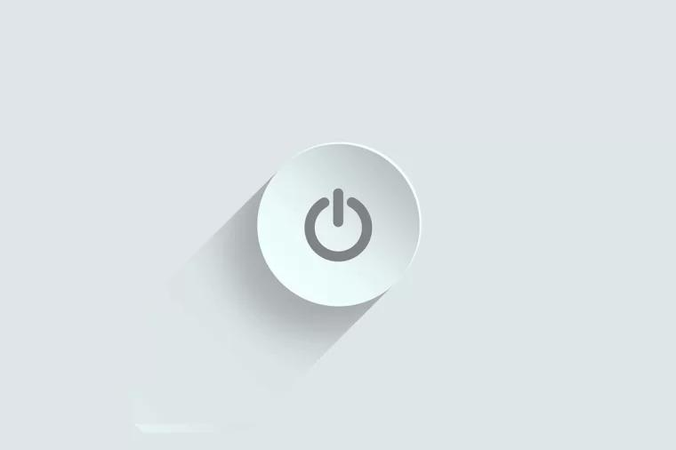电源键 power switch