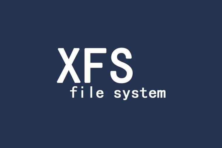 XFS file system