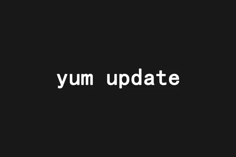 yum update