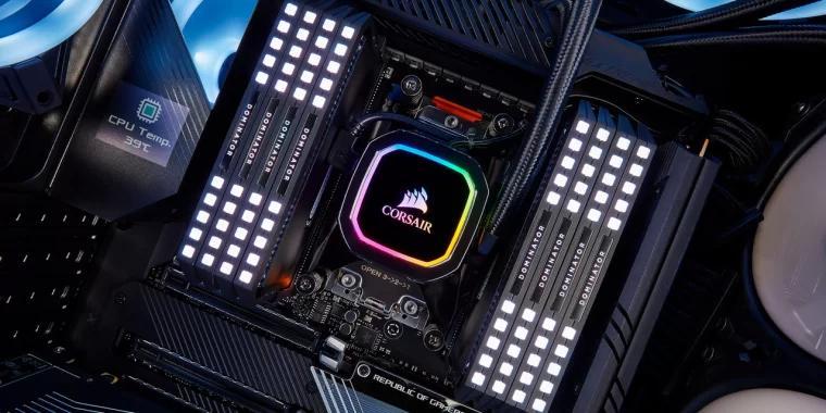 电脑散热器 CPU radiator