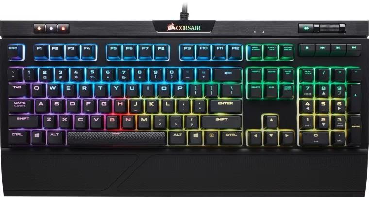 美商海盗船游戏机械键盘 Corsair Strafe RGB MK.2