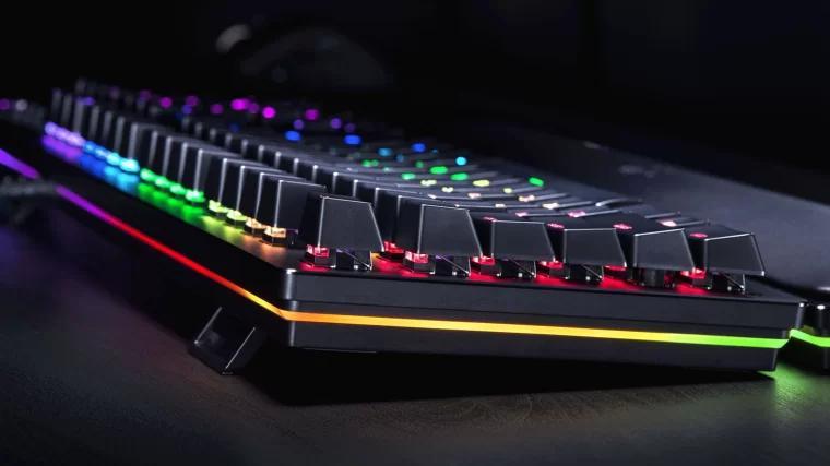 雷蛇游戏机械键盘 Razer Huntsman Elite