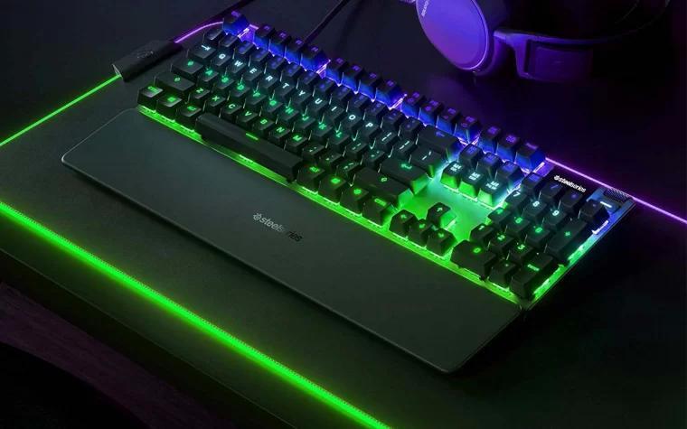 赛睿电竞游戏键盘 SteelSeries Apex Pro