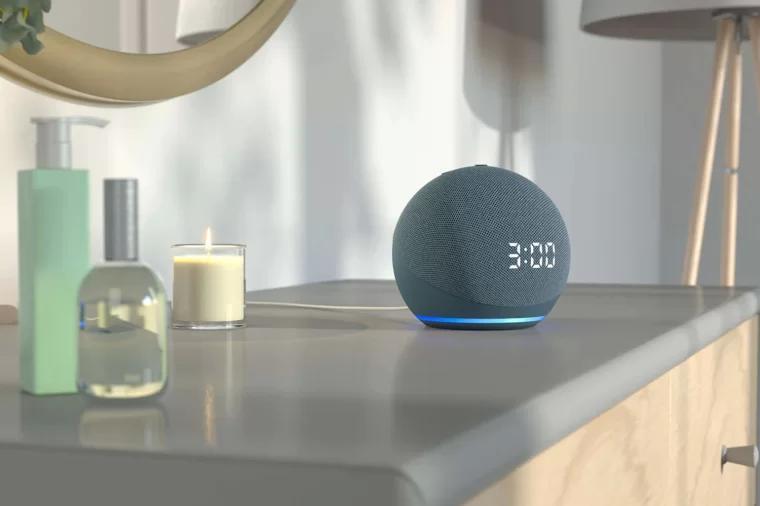 亚马逊智能音箱 amazon echo dot 4