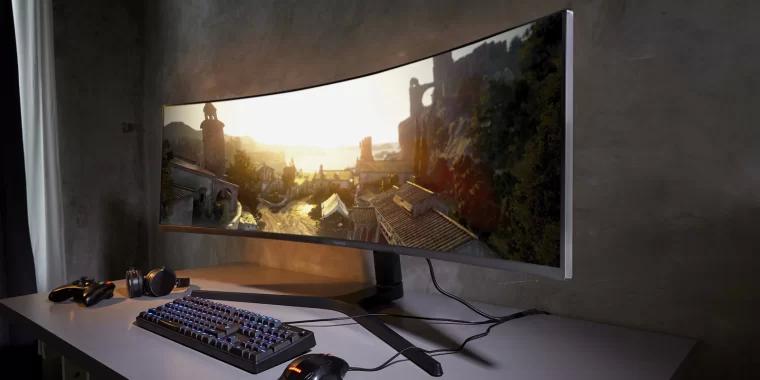 Game monitor 游戏显示器