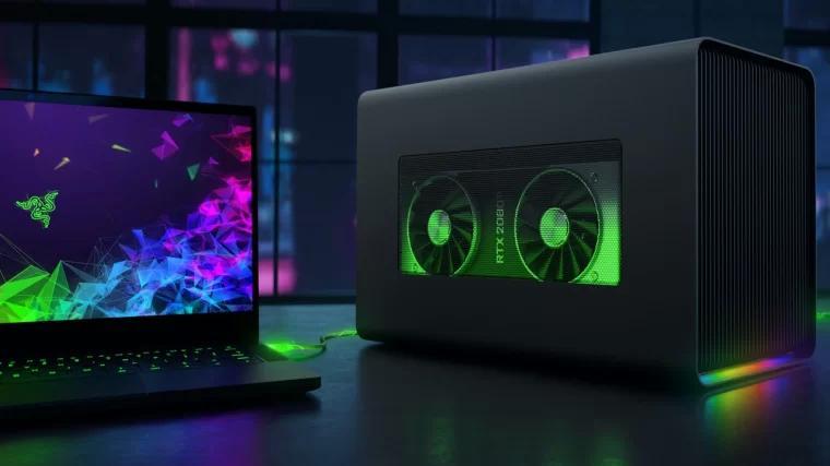 笔记本电脑外置显卡拓展坞 Laptop graphics card