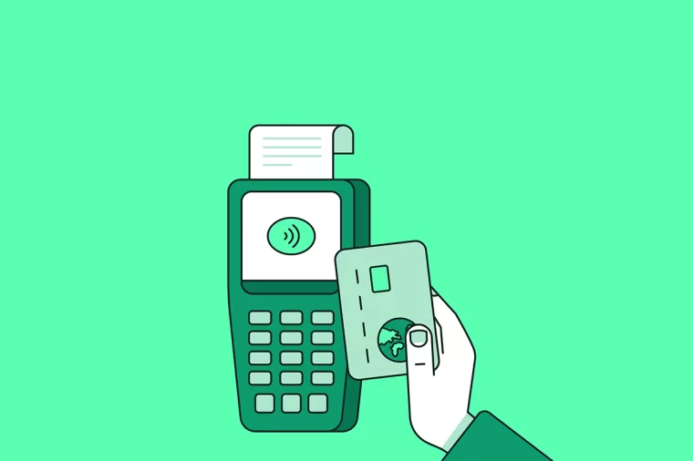 POS credit card 信用卡
