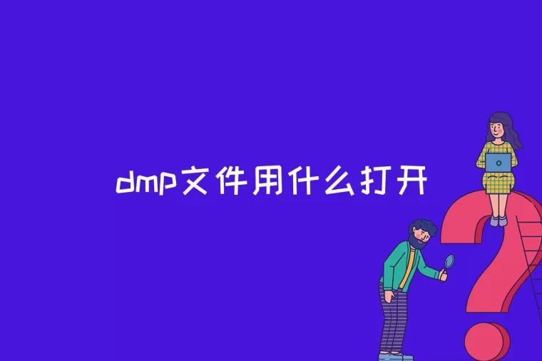 dmp文件用什么打开